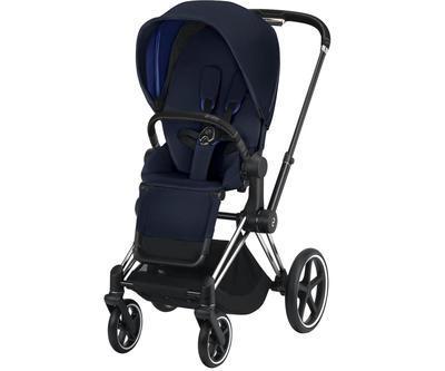 Kočárek CYBEX Set Priam Chrome Black Seat Pack 2019 včetně Cloud Z i-Size, indigo blue - 3
