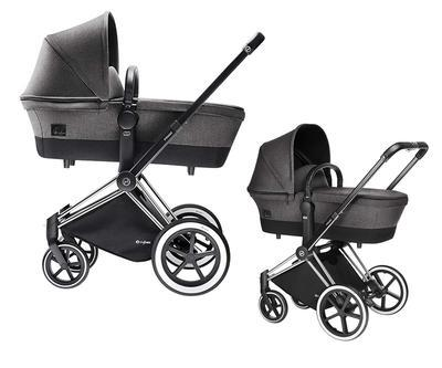 Kočárek CYBEX Set Priam All Terrain 2018 + ZDARMA Cloud Q Plus, manhattan grey - 3