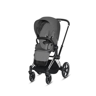 Kočárek CYBEX Priam Chrome Black Seat Pack PLUS 2021 včetně korby - 3