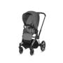 Kočárek CYBEX Priam Chrome Black Seat Pack PLUS 2021 včetně korby - 3/7