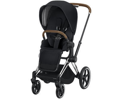 Kočárek CYBEX Set Priam Chrome Brown Seat Pack 2019 včetně Cloud Z i-Size - 3