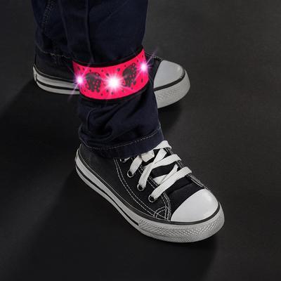 Reflexní páska REER s LED světlem 2021, růžová - 3