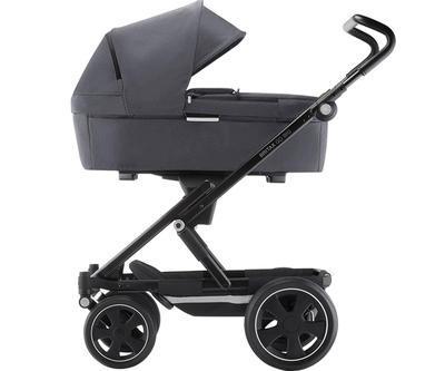 Kočárek BRITAX GO Big2 Premium Line 2019 včetně hluboké korby + autosedačka Baby-Safe i-Size ZDARMA, graphite melange/black - 3
