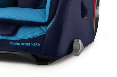 Autosedačka RECARO Sport Hero 2018, racing red - 3