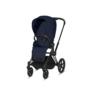 Kočárek CYBEX Set Priam Matt Black Seat Pack PLUS 2021 včetně Cloud Z i-Size PLUS, midnight blue - 3/7