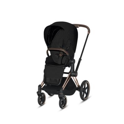 Kočárek CYBEX Set Priam Rosegold Seat Pack PLUS 2021  včetně Cloud Z i-Size PLUS, stardust black - 3