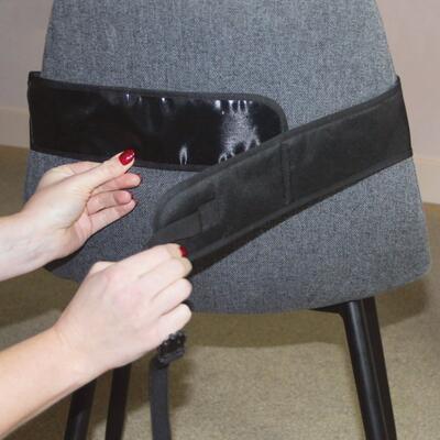 Přenosná textilní židlička DOOKY Travel Chair Black 2020 - 3