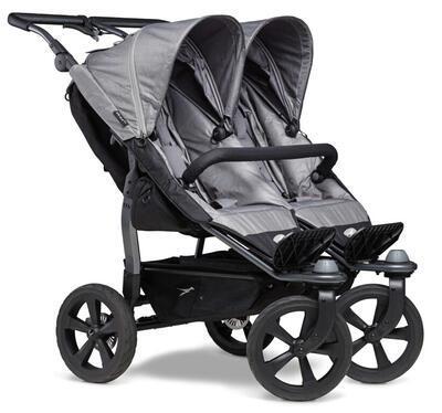 Sportovní sedačka TFK Stroller Seats Duo 2021, grey - 3