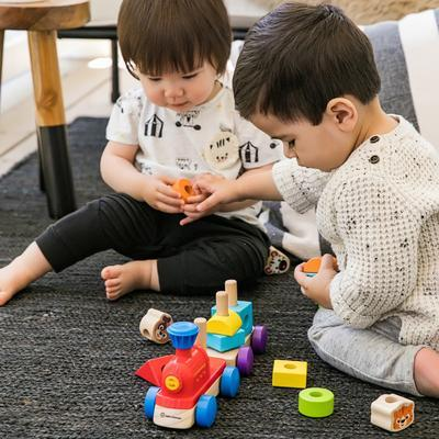 Dřevěná hračka BABY EINSTEIN Discovery Train HAPE 18m+ 2020 - 3