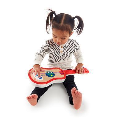 Dřevěná hudební hračka BABY EINSTEIN Ukulele Magic Touch HAPE 12m+ 2020 - 3
