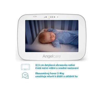ANGELCARE AC527 Monitor pohybu dechu a elektronická video chůvička 2021 - 3