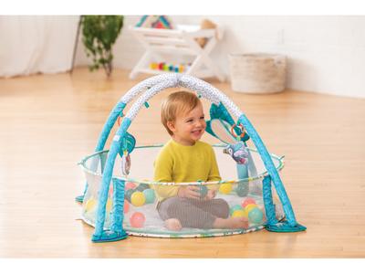 Hrací deka s hrazdou a ohrádkou INFANTINO 3v1 Jumbo 2020 - 3