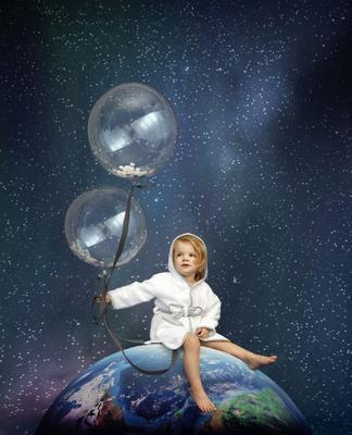 Dětský župan VINTER & BLOOM Northern Lights 2020 - 3