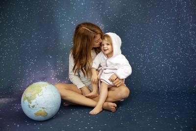 Dětský župan VINTER & BLOOM Northern Lights 2020, stella pink - 3