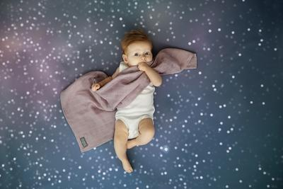 Mušelínové plenky VINTER & BLOOM Northern Lights 2 ks 2020, stella pink - 3