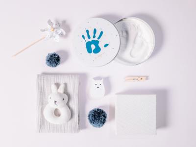 Rámeček s víkem a stojánkem BABY ART Magic Box 2021, essentials - 3