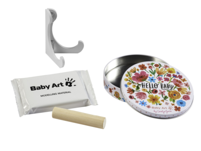 Rámeček s víkem a stojánkem BABY ART Magic Box 2021, Carolyn Gavin Flowers - 3