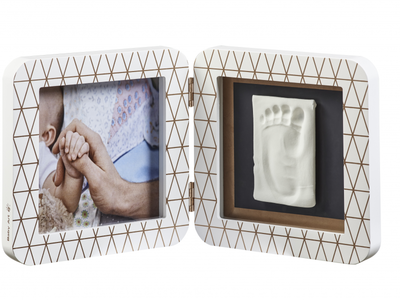 Rámeček BABY ART My Baby Touch Simple 2021, copper edition white - 3