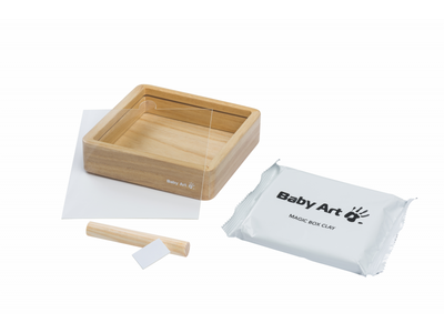Dřevěný rámeček BABY ART Magic Box Square Wooden 2021 - 3