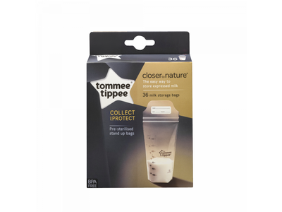 Sáčky na mateřské mléko TOMMEE TIPPEE 36ks 2020 - 3