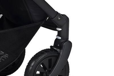 Kočárek PETITE&MARS sportovní Street Air Shadow Grey Complete - 3