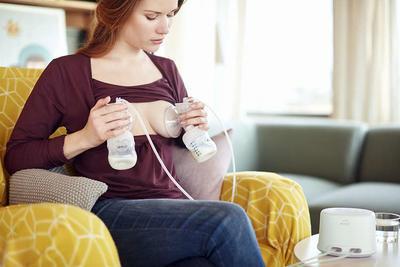 Odsávačka mateřského mléka AVENT Natural elektronická DUO 2020 - 3