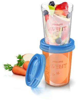 VIA pohárky AVENT s víčkem (240ml) 2020 - 3