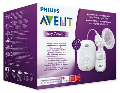 Odsávačka mateř.ml. Classic elektronická EasyComfort Philips AVENT 2019 - 3
