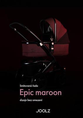 Přebalovací taška JOOLZ Uni2 2020 Limitovaná edice Epic Maroon - 3