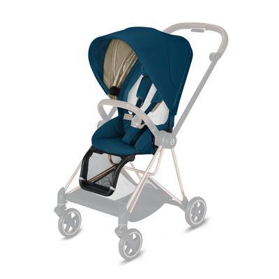 Kočárek CYBEX Mios Chrome Black Seat Pack 2021 včetně korby, mountain blue - 3