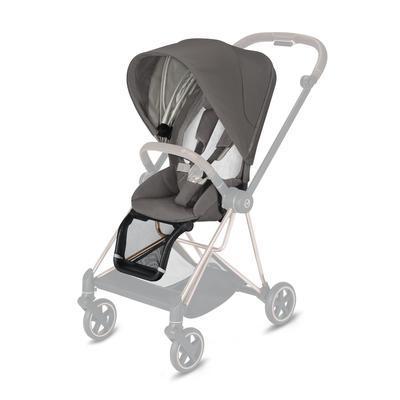 Kočárek CYBEX Mios Chrome Brown Seat Pack 2021 včetně korby, soho grey - 3