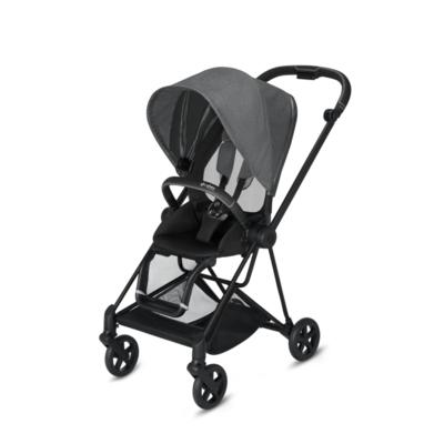Kočárek CYBEX Mios Matt Black Seat Pack PLUS 2021 včetně korby, manhattan grey - 3