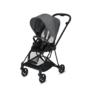 Kočárek CYBEX Mios Matt Black Seat Pack PLUS 2021 včetně korby, manhattan grey - 3/7