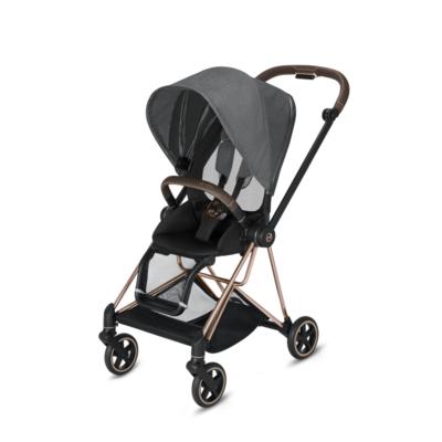 Kočárek CYBEX Mios Rosegold Seat Pack PLUS 2021 včetně korby, manhattan grey - 3