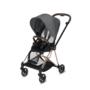 Kočárek CYBEX Mios Rosegold Seat Pack PLUS 2021 včetně korby, manhattan grey - 3/7
