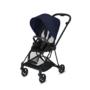 Kočárek CYBEX Mios Matt Black Seat Pack PLUS 2021 včetně korby, midnight blue - 3/7
