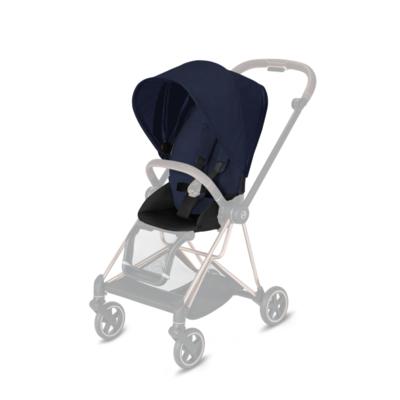 Kočárek CYBEX Mios Chrome Black Seat Pack PLUS 2021 včetně korby, midnight blue - 3