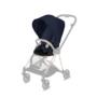 Kočárek CYBEX Mios Chrome Black Seat Pack PLUS 2021 včetně korby, midnight blue - 3/7