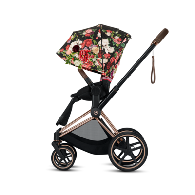 Kočárek CYBEX Priam Lux Seat Fashion Spring Blossom 2021 včetně korby - 3