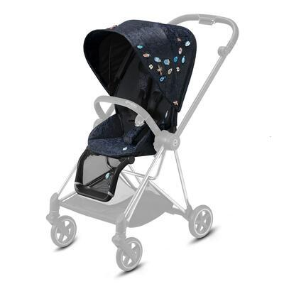 Kočárek CYBEX Mios Seat Pack Fashion Jewels of Nature 2021 včetně korby - 3