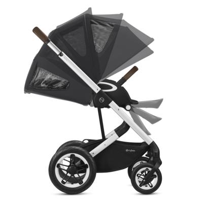 Kočárek CYBEX Talos S Lux Silver 2021 včetně korby - 3