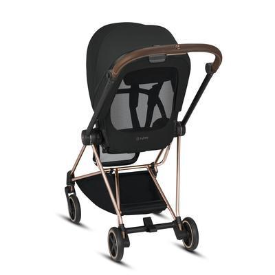 Kočárek CYBEX Mios Chrome Black Seat Pack 2021, deep black - 3
