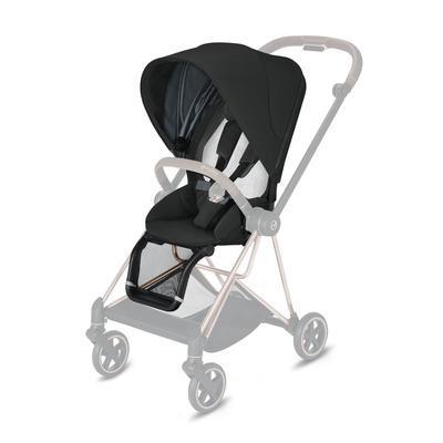 Kočárek CYBEX Mios Chrome Brown Seat Pack 2021 včetně korby, deep black - 3