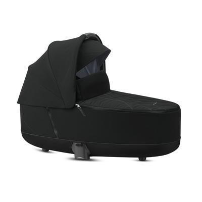 Kočárek CYBEX Set Priam Rosegold Seat Pack 2021 včetně Aton 5, deep black - 3
