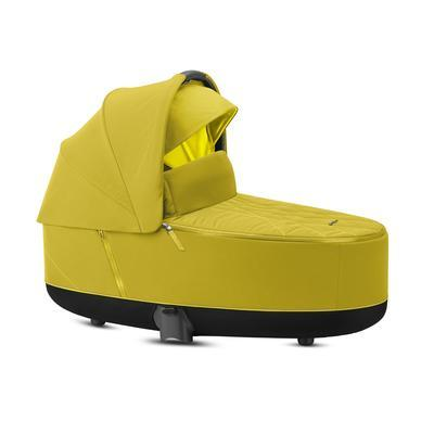 Kočárek CYBEX Set Priam Rosegold Seat Pack 2021 včetně Aton 5 a báze, mustard yellow - 3