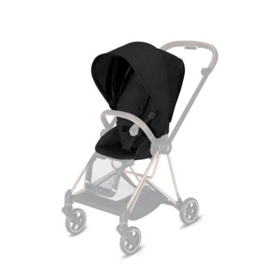 Kočárek CYBEX Mios Chrome Black Seat Pack PLUS 2021 včetně korby, stardust black - 3