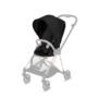 Kočárek CYBEX Mios Chrome Black Seat Pack PLUS 2021 včetně korby, stardust black - 3/7