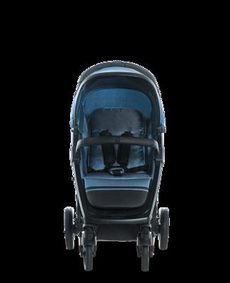 Kočárek MOON Jet-R 2019, blue nylon - 3