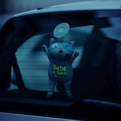Hračka do auta BADABULLE Baby on Board 2021 - 3