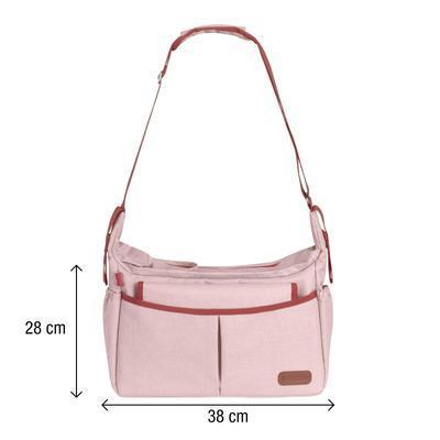 Přebalovací taška BABYMOOV Urban Bag 2021, melanged pink - 3